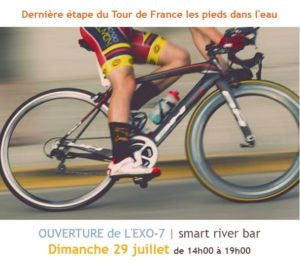 Vue du Tour de France depuis La Talente
